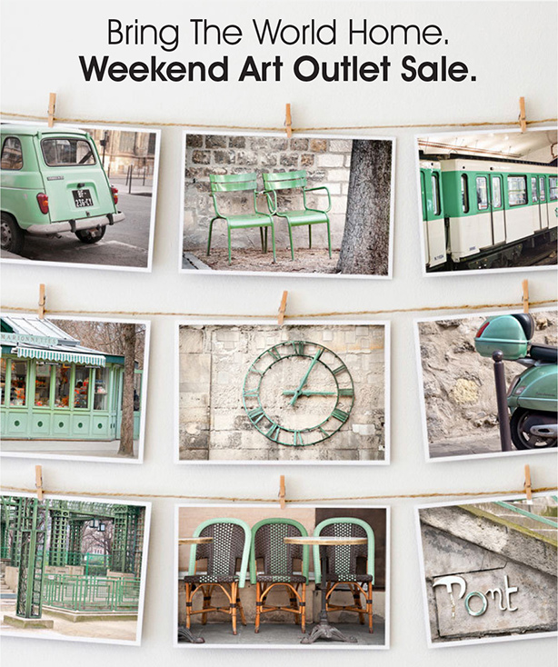 Art Outlet Weekend Sale