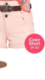 3 Button High Waist Short