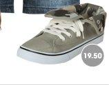 Snap Foldover Sneaker