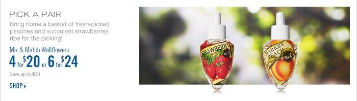 Mix & Match Wallflowers – 4 for $20