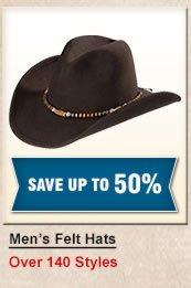 Men's Felt Hats