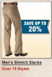 Men's Stretch Slacks