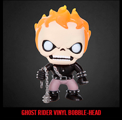 GHOST RIDER VINYL BOBBLE-HEAD