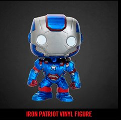 IRON PATRIOT VINYL FIGURE