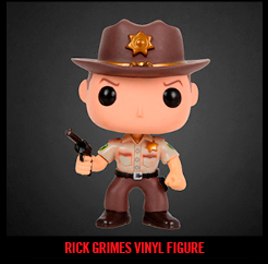 RICK GRIMES VINYL FIGURE