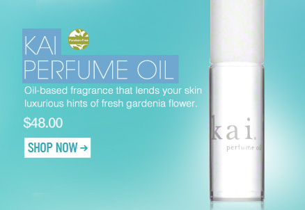 Featured Products Paraben-free Available at blush.com kai Perfume Oil Oil-based fragrance that lends your skin luxurious hints of fresh gardenia flower. $48 Shop Now>>