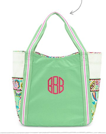 Large Colorblock Tote in Tutti Frutti