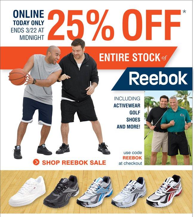 Shop All Reebok