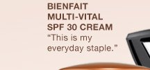 Bienfait Multi-Vital SPF 30 Cream | This is my everyday staple.