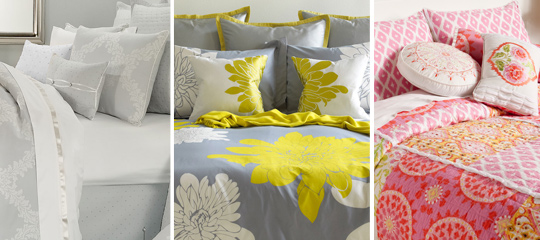 Springtime Spruce-Up:Swap Out the Linens