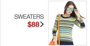 SHOP SWEATERS $88