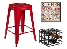 Kick Up the Kitchen Inviting Décor & Accents
