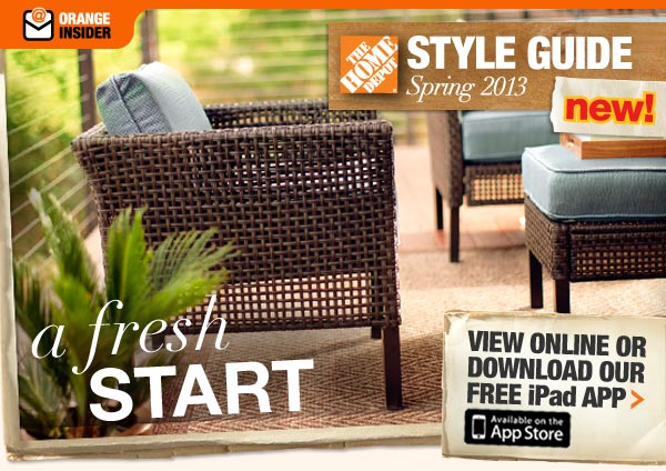 Spring Style Guide 2013 a Fresh Start