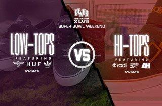 Low-Tops VS. Hi-Tops
