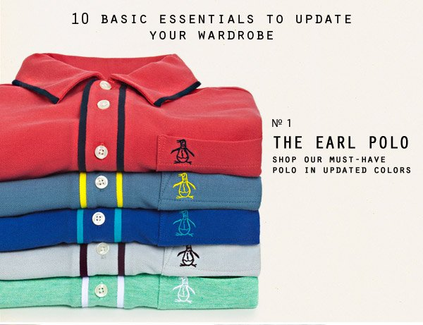 10 Basic Essentials To Update Your Wardrobe. - Shop Our Must-Have Polo