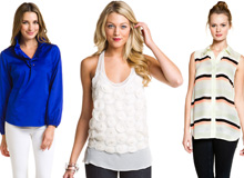 Spring Style Cue the Lightweight Tops & Tees