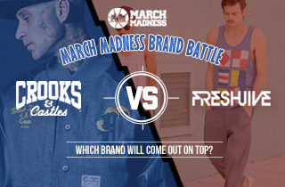 Crooks and Castles VS. Freshjive