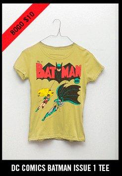 DC COMICS BATMAN ISSUE 1 TEE