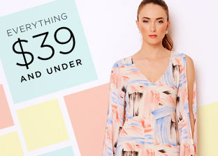 Everything $39 & Under