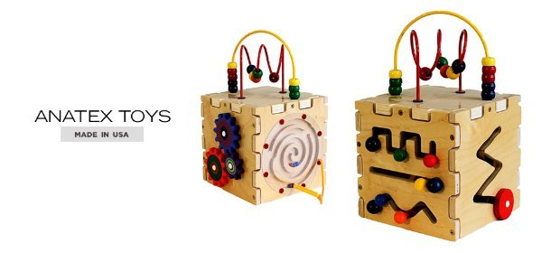MADE IN USA: ANATEX TOYS, Event Ends March 26, 9:00 AM PT >