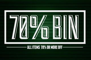 70% Off Bin