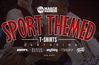 March Madness: Sports Themed Tees