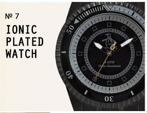 Ionic Plated Watch