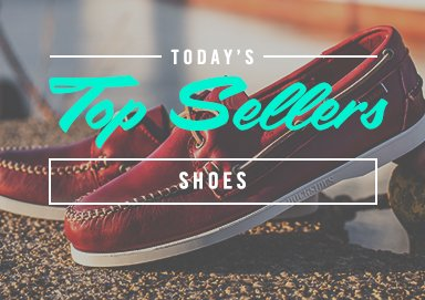 Shop Top Sellers: Footwear