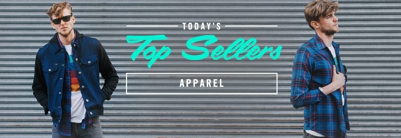 Shop Top Sellers: Apparel