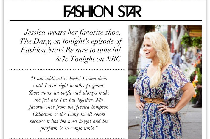 The Dany Returns in new colors and styles! + Jessica wears the Dany tonight on Fashion Star.