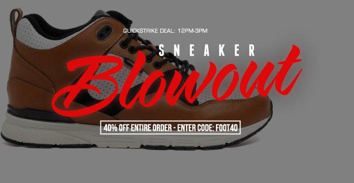 Sneaker Blowout