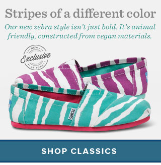 Stripes of a different color - shop classics