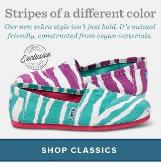 Stripes of a different color - shop classics