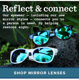 Reflect & connect - shop mirror lenses