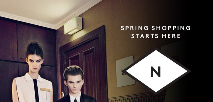 Spring styles are here! Shop new designer arrivals for men and women.