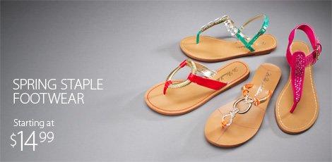 Spring Staple footwear