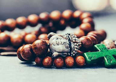 Shop Mixed Material Jewelry: Wood & Stone