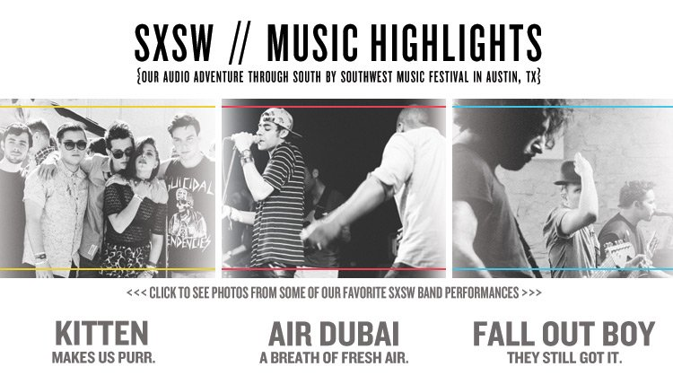 Check out Pics from Our Favorite Bands at SXSW!