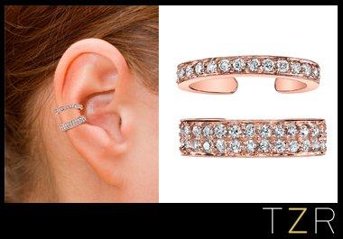 Anita Ko Rose Gold Diamond Ear Cuff