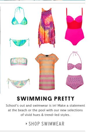 SWIMMING PRETTY - Shop Swimwear