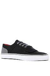 The Cesario Lo XVI Sneaker in Black Suit