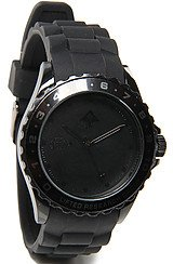 The Latitude Watch in Black