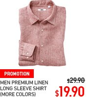 MEN PREMIUM LINEN LONG SLEEVE SHIRT