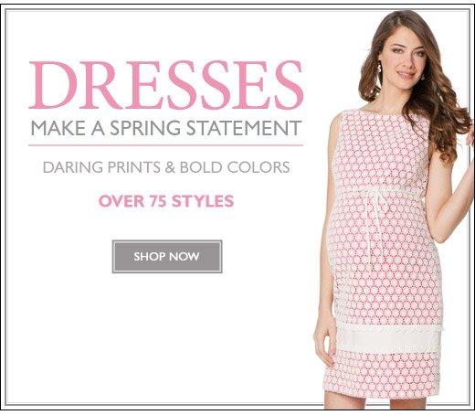 DRESSES: Make A Spring Statement - Shop Now