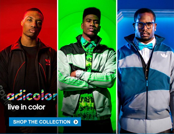 adicolor live in color - shop the collection