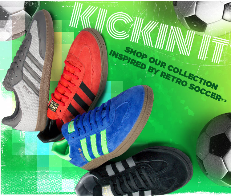 Kick It In Our Retro Soccer Inspired Collection