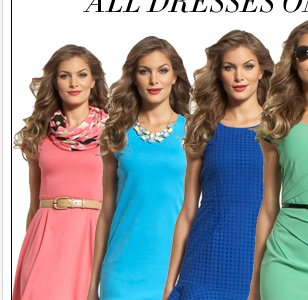 All dresses starting at just $20!