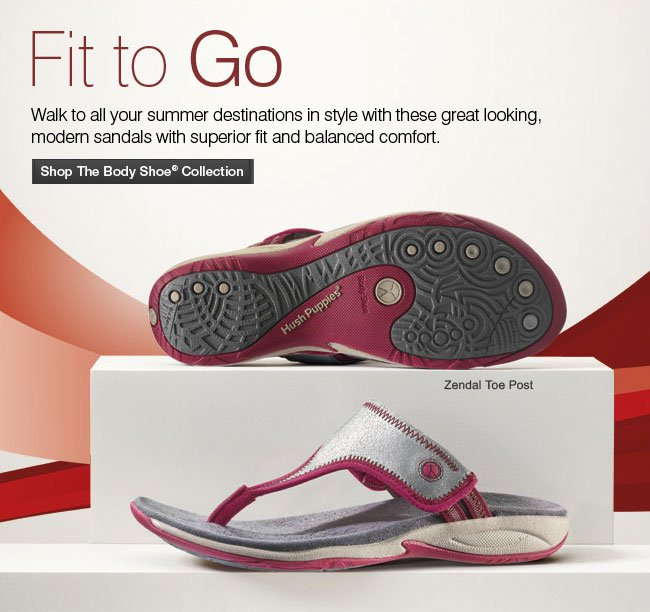 Fit to Go Shop The Body Shoe Collection