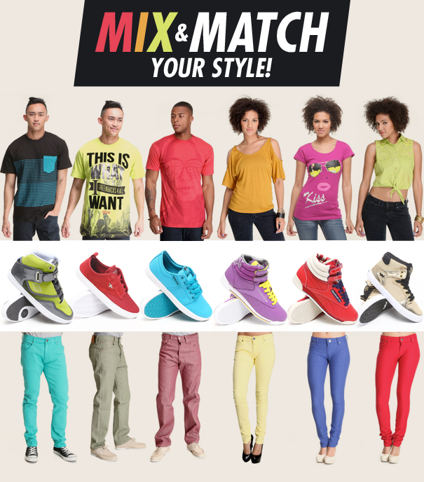 Mix and Match Your Style