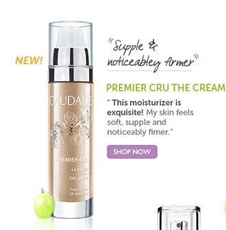 NEW PREMIER CRU THE CREAM: 'Supple and noticeably firmer' | 'This moisturizer is exquisite! My skin feels soft, supple, and noticeably firmer.' SHOP NOW